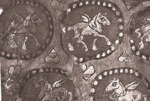 Early medieval patterned fabric