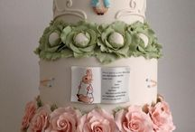 Peter rabbit cakes