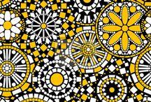 vitrine jaune
