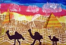 Egyptian Art Lessons