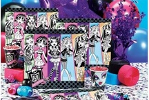 Monster High Party 6th / by Kara Bailey