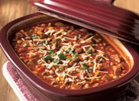 Dinner Plans - Deep Dish Covered Baker Recipes / One of my favorite Pampered Chef products