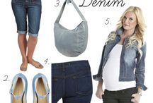 Not mom jeans, it's MOM jeans. Style and comfort.. / Chic maternity denim for the mama to be.