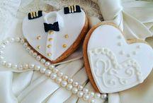 wedding cookie's / wedding cookie's