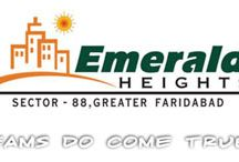 Emerald heights / Emerald heights developer is lunch a New projects in sector 88 Faridabad. Emerald heights project is an upcoming project in Faridabad. Emerald heights is provide 24 hours power backup and water supply .this city full secure and there are more green space available.