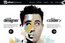 Web Design & Development / Inspiring pieces.