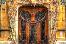 Old doors, windows & gates.