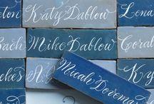shades of blue wedding