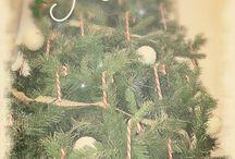 Il mio Natale ... un po' shabby .... un po' vintage...