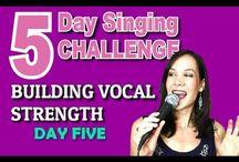 Vocal teaching