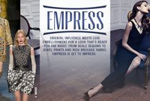 #DRESSMAS Empress / A board for the empress trend for the Boohoo competition.