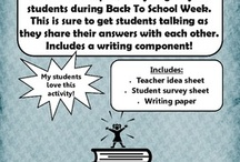 Back to School Stuff / by Secondary Solutions