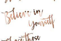 Quotes & tatts