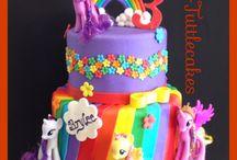 My little pony taarten / cupcakes / video's