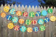 Grayson's birthday