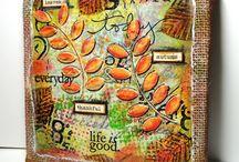painting, mixed media & art journaling