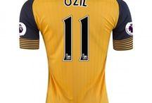 Billige Mesut Ozil trøje / Køb Mesut Ozil trøje 2016/17,Billige Mesut Ozil fodboldtrøjer,Mesut Ozil hjemmebanetrøje/udebanetrøje/3. trøje udsalg med navn.