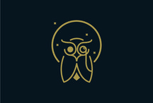 Owl designs and logos
