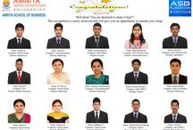 Summer Placements 2015 / Outstanding Summer placements! All 72 students are placed. New benchmark - Three international; Highest stipend of Rs. 25,000.