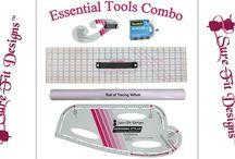 Essential Pattern Drafting Tools