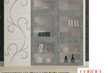 Vetrine / Cabinets / vetrine di vari stili