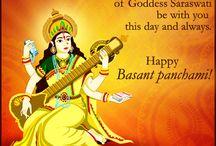 Vasant Panchami Cards