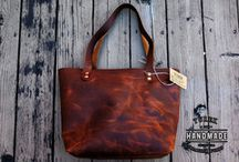 Leather bags - Ladies / Inspiration for ladie's leather bag design.