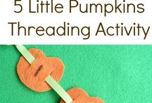 Fall Learning Ideas / Fall themed learning ideas for kids.