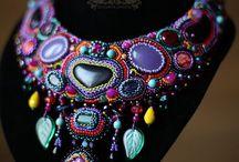 maawio - naszyjniki haft