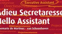 Boek Adieu Secretaresse, Hello Assistant
