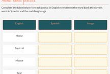 Edtech tools for the class / a board with resources for the class