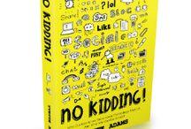 PR Campaign   No Kidding - Book launch