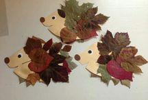 pinnsvin med blader