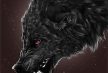 Черные волки