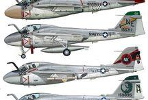Aviones perfiles y box art