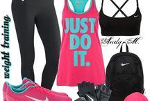 Cute workout stuff :) / by Tiffany Horensky
