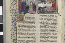 The Decameron / Arsenal MS 5070, reserve, The Decameron, Giovanni Boccaccio, 1432.