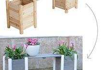 GARDENING - CHAIRS, BENCHES / by Patricia