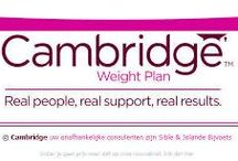 Cambridge Weightloss Programme / This is about a fantastic weightloss programme called 'Cambridge' . It is very successful in helping people lose weight and change their relationship with food so that even after finishing with Cambridge they can carry on with their lives and use the tools and knowledge they have learnt going through the programme to keep the weight off and make practical decisions when it comes to what food they put in their body