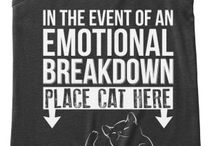 cats, and tees and clothes and stuff❤