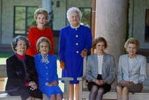 White House First Ladies / First Ladies of the United States ... before, during, and after their husband's terms in Office.  / by Barb Smith