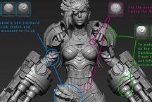 3D-Art / 3次元情報のあるアート