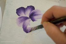 How to Paint a Pansy, a Free Tutorial