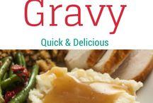 Gravies/Savory Sauces