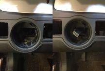 Vinylreparationer i interiør samt plastreparationer