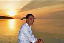 The 7th Indonesia President - Mr Joko Widodo / Good man