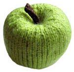 Strikkede frugter