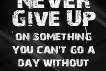 Motivate / Quote stuff