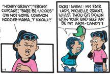 Babbling and Baby Talk Comics / Comics about babbling, babble, baby talk and gibberish.
