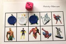 Superhero Themed Activities and Crafts